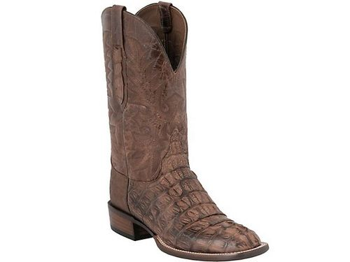 3213063c2f3 Shop New Lucchese CY7072 W8 Mens Caiman Crocodile Leather Western ...