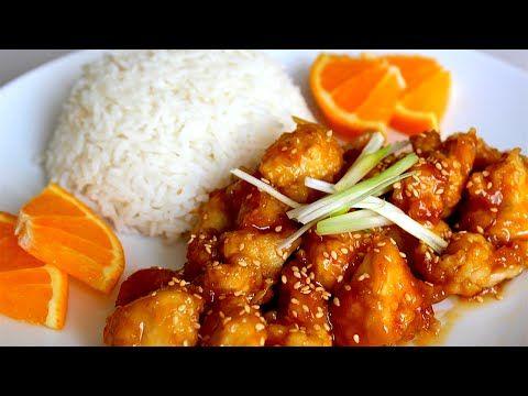 Orange Chicken - How to make Orange Chicken (Orange Chicken Recipe) - YouTube