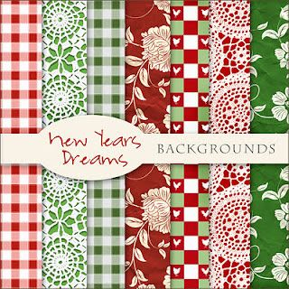 Scrap. DOT: Freebies New Years Backgrounds