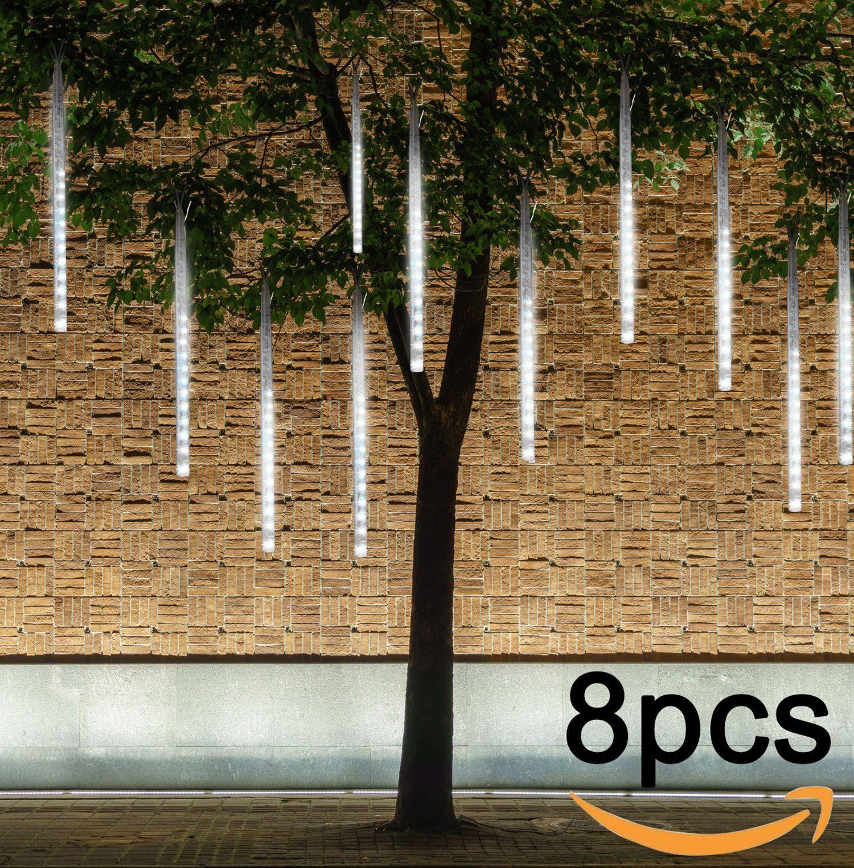 Falling Rain Lights Ubegood Meteor Shower Lights Waterproof with