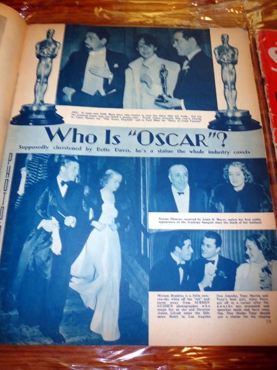 Osacrs 1930s Rare Collection 3 Antique SCREEN GUIDE Magazines - Hollywood Golden Age - Loaded w/Photos 1936-1937 Deco #hollywoodgoldenage