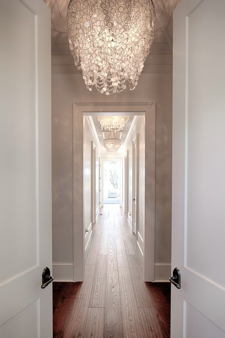 Beautiful hallway details Hallway Modern Coastal by J