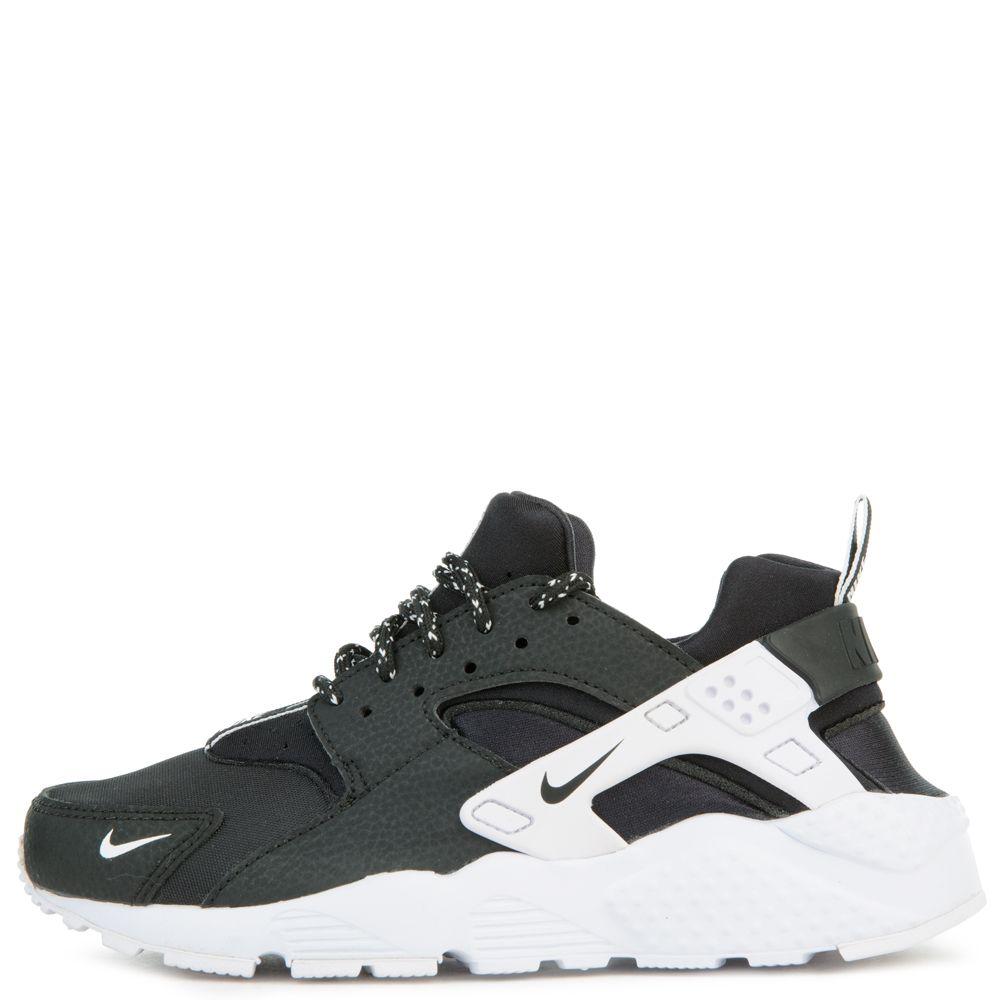 sports shoes 1f2fe 5764f Nike Huarache Run Se (gs) Black black-white