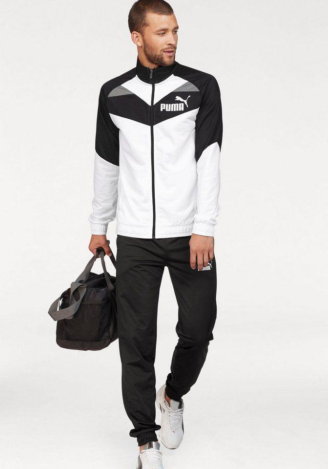 puma trainingsanzug iconic tricot suit cl set 2 tlg. Black Bedroom Furniture Sets. Home Design Ideas