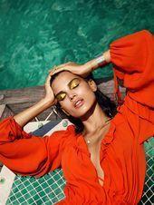 Photo of Orange Crush: Fashion Photography by Luis Monteiro & Rob Dewey   Inspiration Gri ……