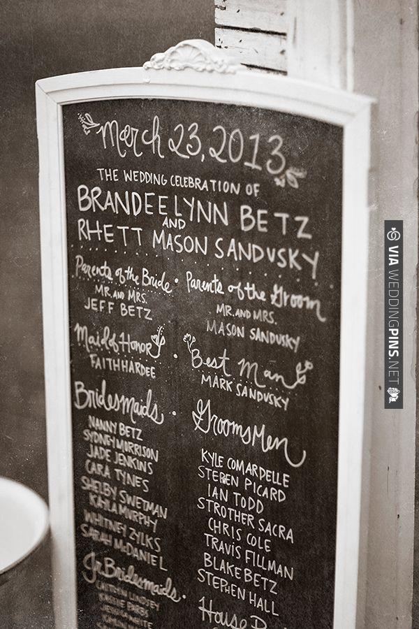 wedding sign ideas | VIA #WEDDINGPINS.NET