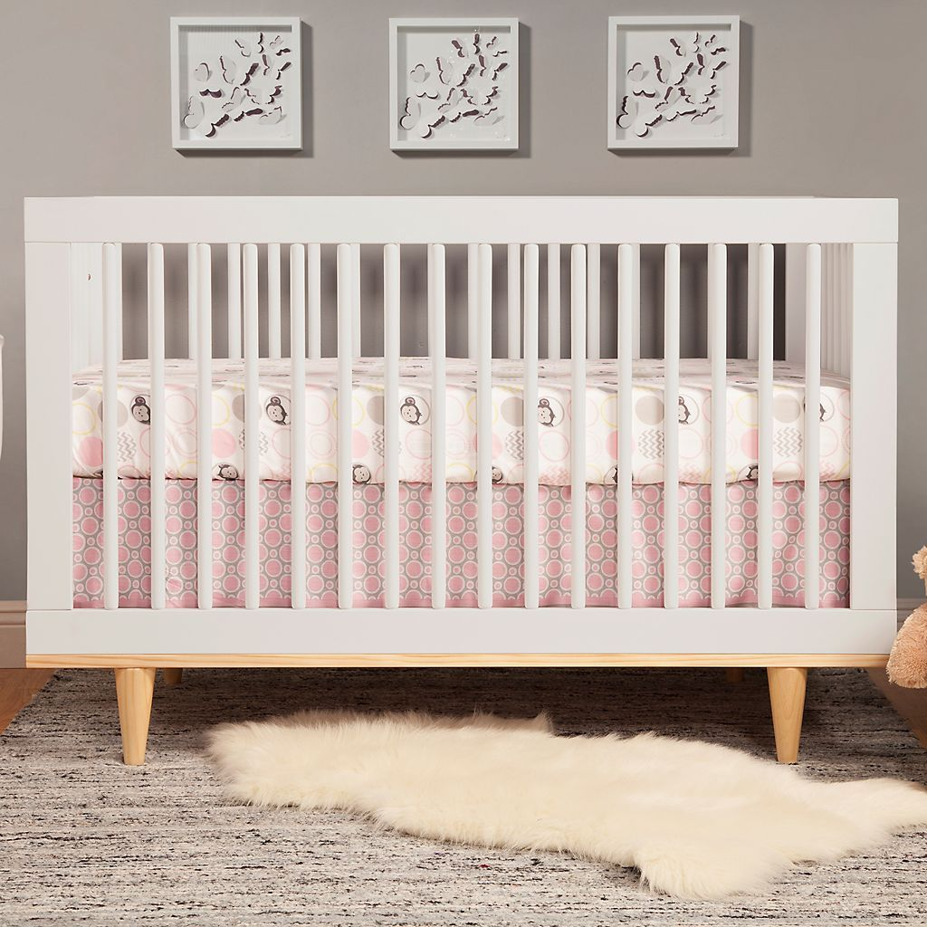Baby Mod Marley 3-in-1 Convertible Crib | Nursery | Pinterest