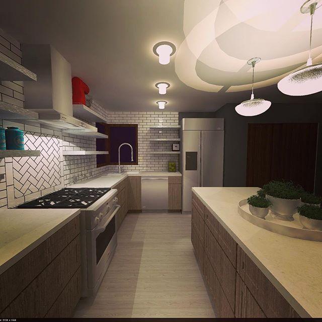 Kitchen Concept Sketchup Sketchuppodium Podium