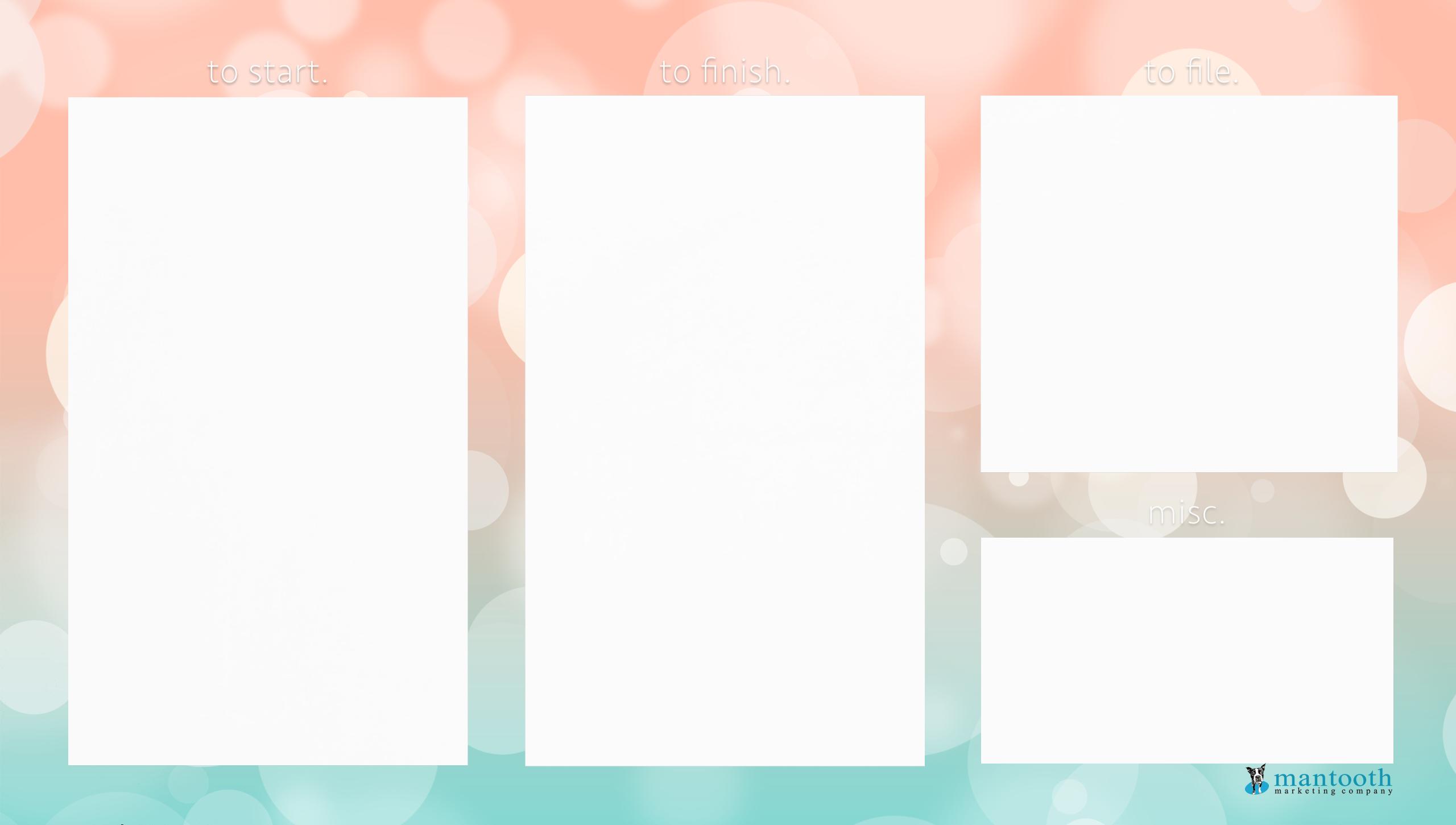 Coral Mint Bokeh Desktop Wallpaper Background Pretty