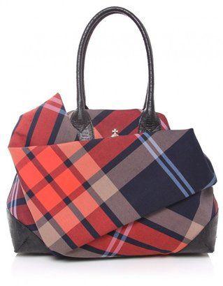 22350d12e03 ShopStyle by POPSUGAR: Vivienne Westwood Womens Capri Large Shopper Bag