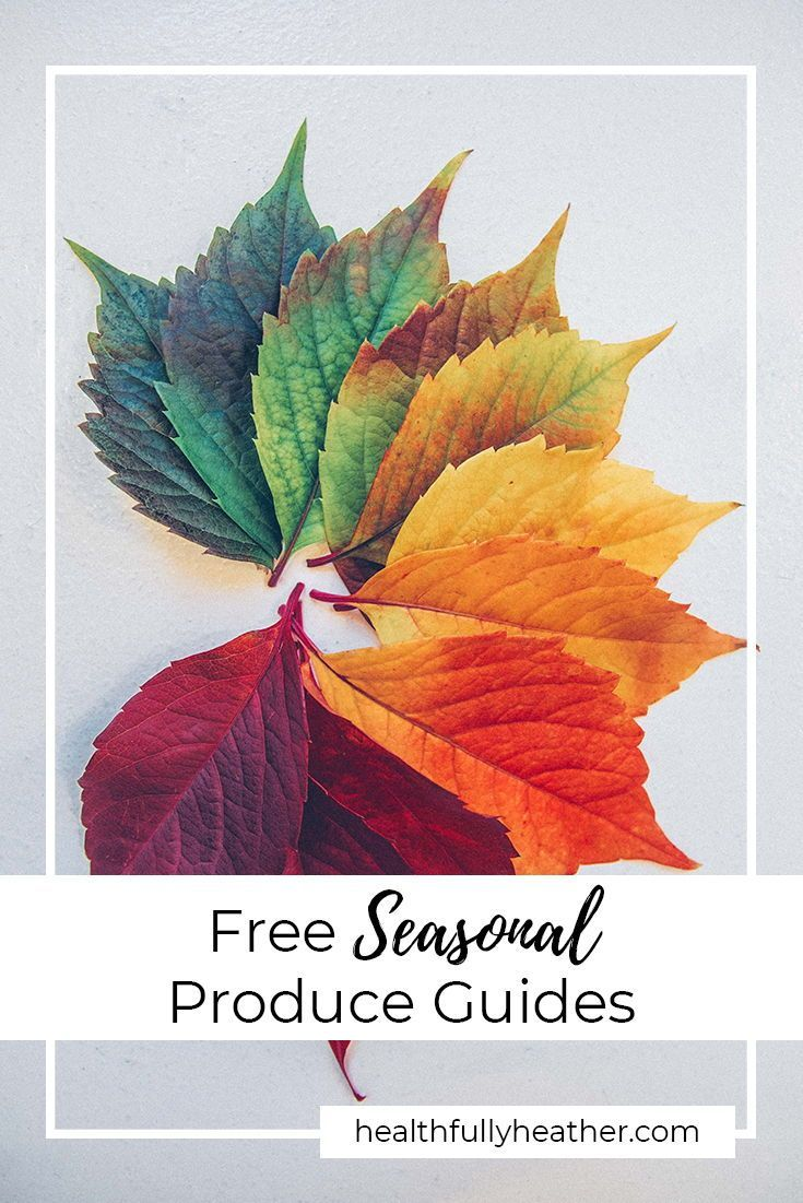 This free seasonal produce guide will give you an overview of many of the fruits and veggies that are in season in spring, summer, fall, and winter! Eat seasonally for more flavourful and nutritious produce. free seasonal produce guide will give you an overview of many of the fruits and veggies that are in season in spring, summer, fall, and winter! Eat seasonally for more flavourful and nutritious produce.