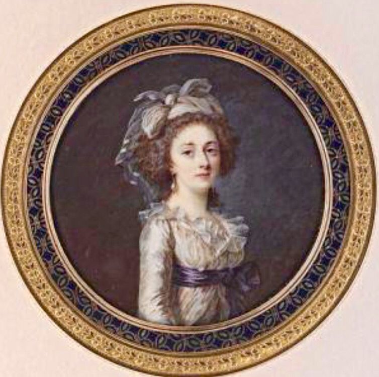 Madame Elisabeth De Nina En Esta Miniatura Marie Antoinette Artwork Francis I