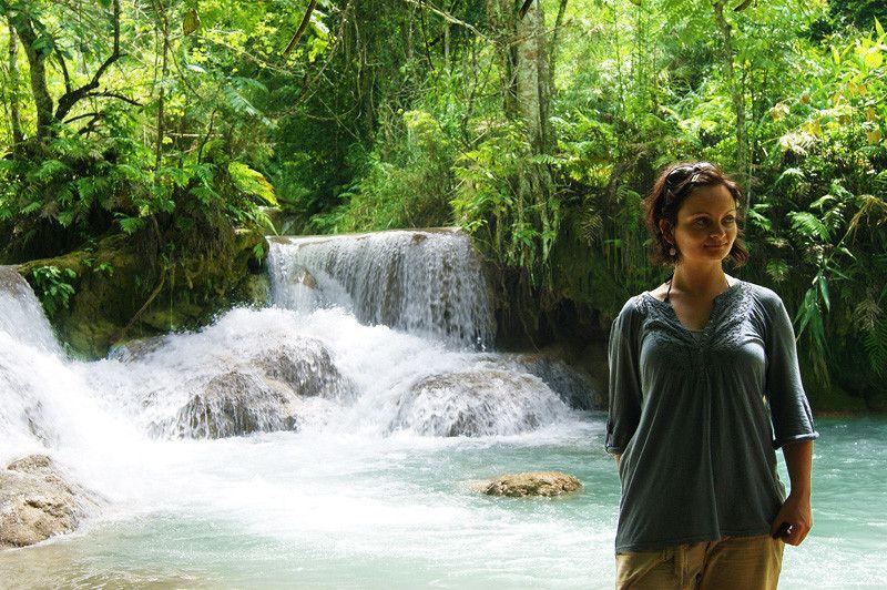 Wasserfall in Luang Prabang