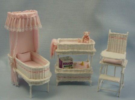 Delicieux Wicker Nursery Furniture