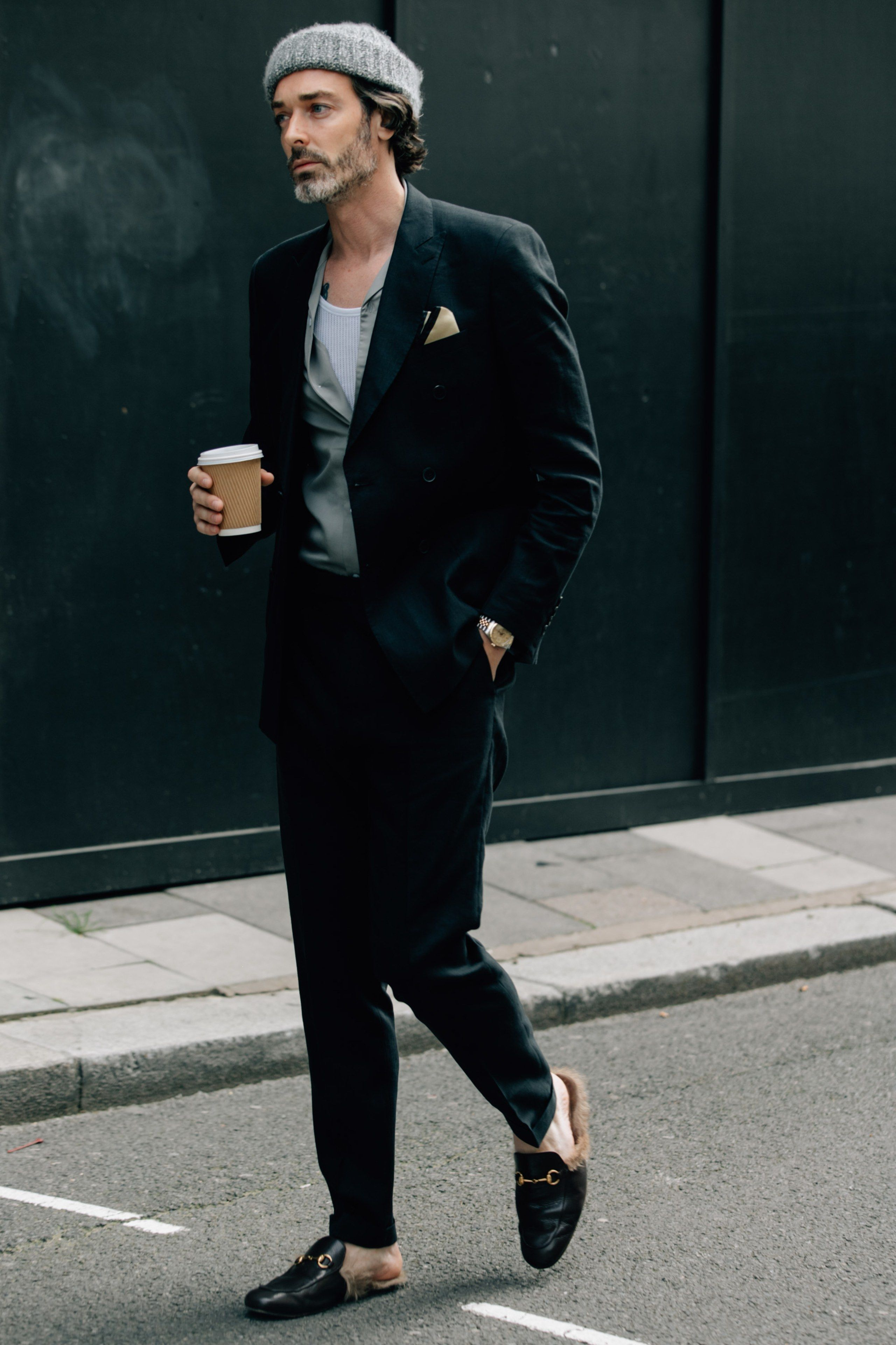 ae01340ffae2 Inside the London men s Spring Summer 2018 shows is where you ll find next  year s must-have menswear. The street style outside is where you ll find  this ...