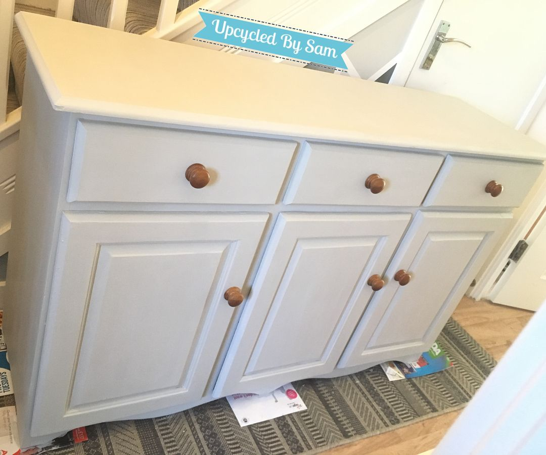 Heres a little after and before picture of a sideboard that I have recently Upcycled  Finished in rustoleum makeitrustoleum