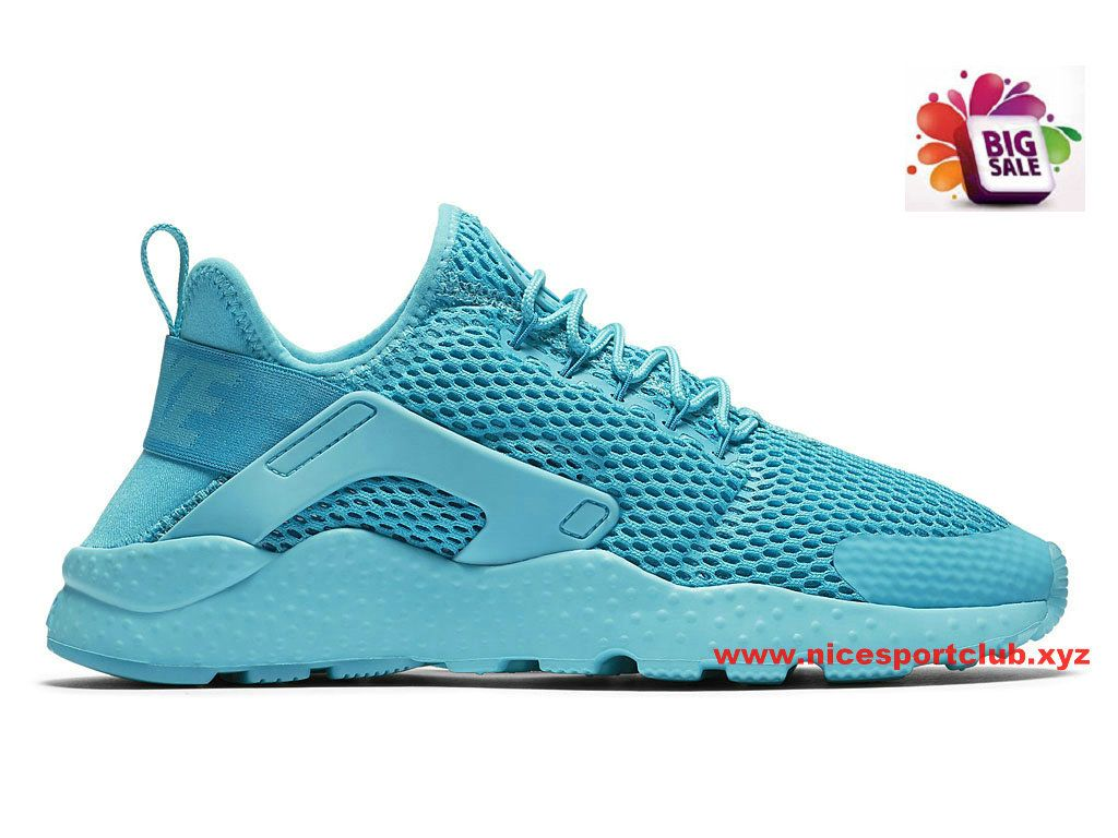 quality design 3500a 1ac5c Nike Air Huarache Ultra Breathe Femme Pas Cher Bleu 833292400
