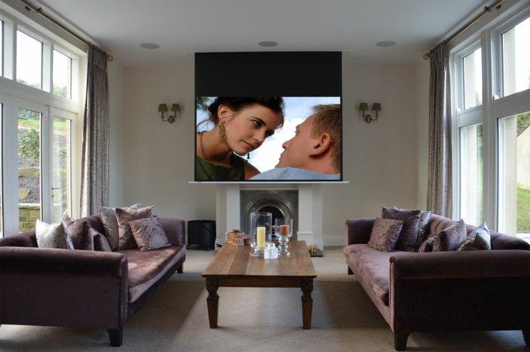 Vidéoprojecteur Home Cinema pour un intérieur ultra moderne