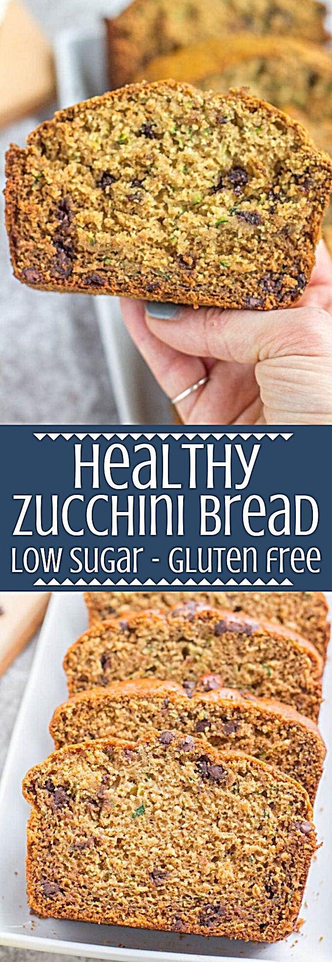 healthy zucchini bread  recipe in 2020  zucchini bread