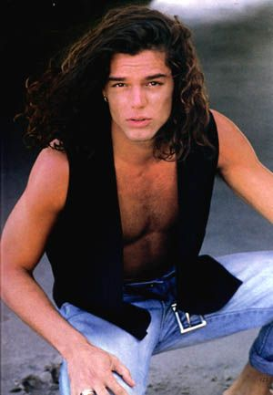 Ricky Martin Picture Ricky With Long Hair Ricky Martin Long Hair Styles How To Look Better