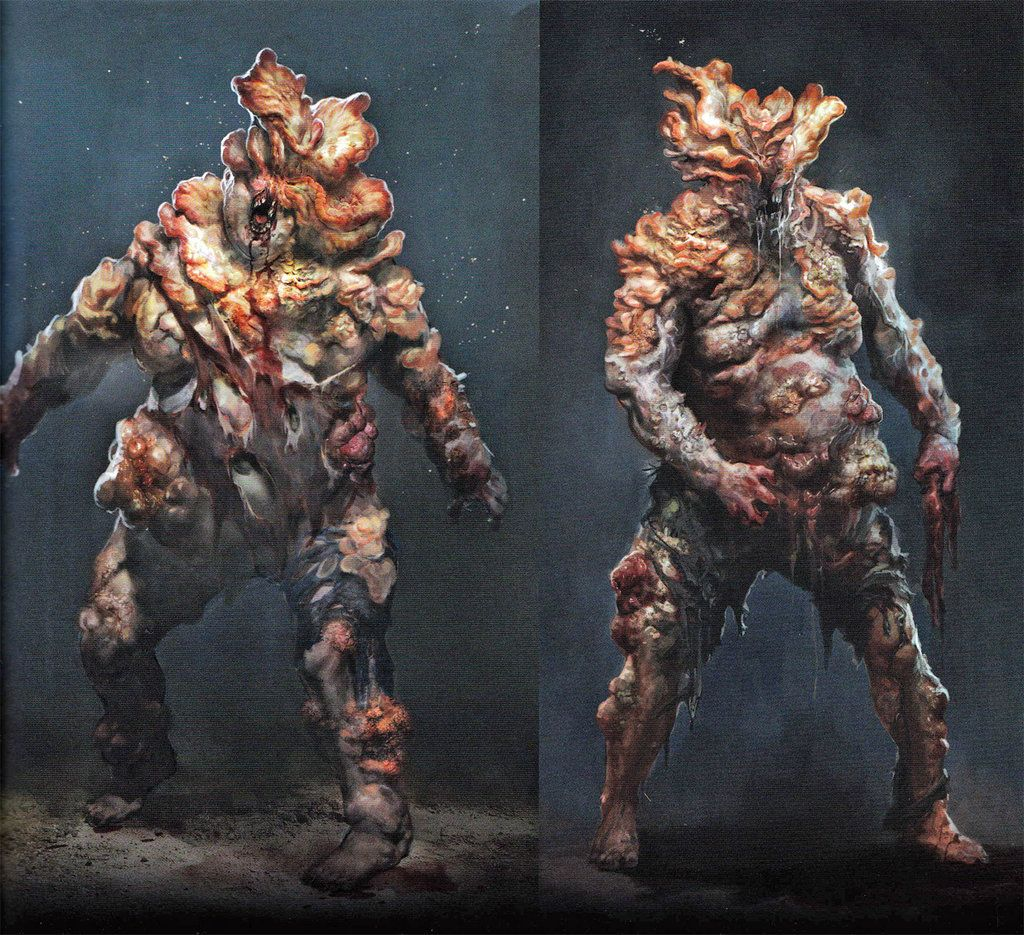 Epic Workout Monster Highlights: Bloater From The Last Of Us. It Shoots Out Balls Of Spores