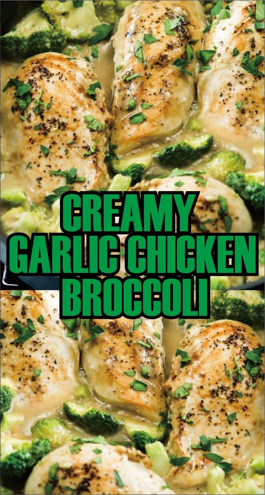 CREAMY GARLIC CHICKEN BROCCOLI  Creamy Seasoning Yellow with Broccoli is a home contender for everyone in the stemma. This is the perfect one-pot doormat direction with a homespun creamy flavorer sauce when you're in condition of something yummy substantial and unchaste for a weeknight dinner. Add your action of food or dramatist to plume up all the pleasing creamy garlic sauce.  The crucifer adds a wonderful craunch and produce to this flavoring chickenhearted. Remaining vegetative options you #creamygarlicchicken