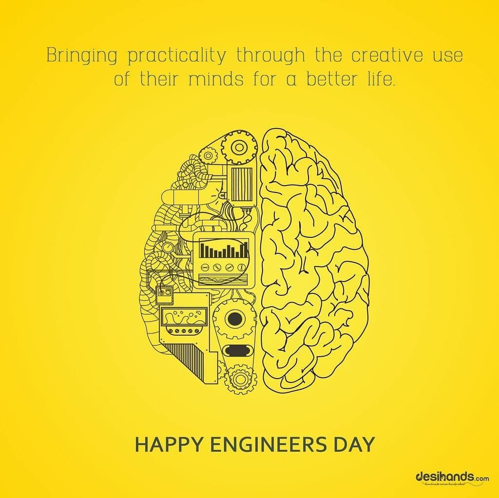 Happy Engineers Day Tag Your Engineer Friends Engineers Day Quotes Engineers Day Engineering Quotes