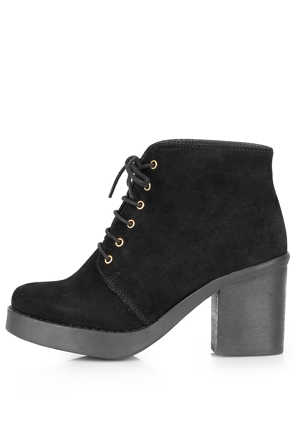 3d8e7f17b8f ATHENA Lace-up Ankle Boots | £70.00 | Topshop | Fall/Winter | Shoes ...