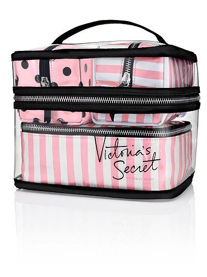 Vanity de voyage quatre pièces Victoria's Secret