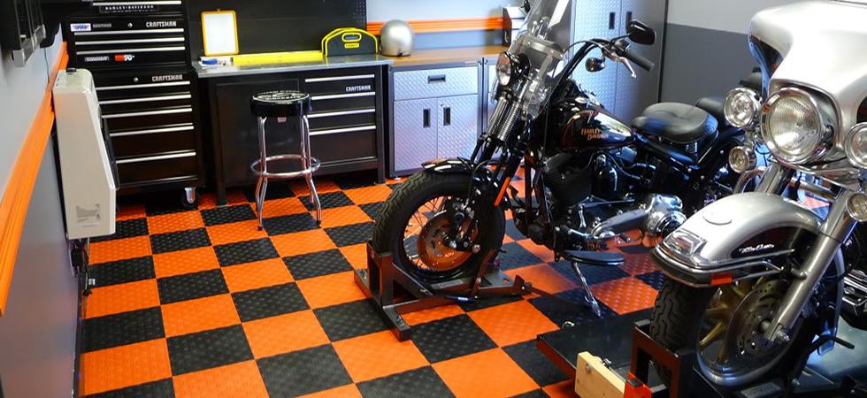 This Garage Though Garageflooring Motorcycle Garage Garage Design Garage Paint