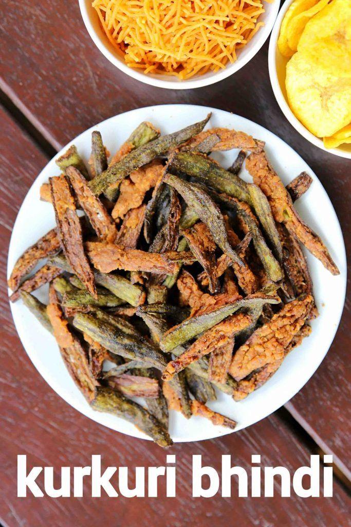 kurkuri bhindi recipe   crispy bhindi   bhindi kur