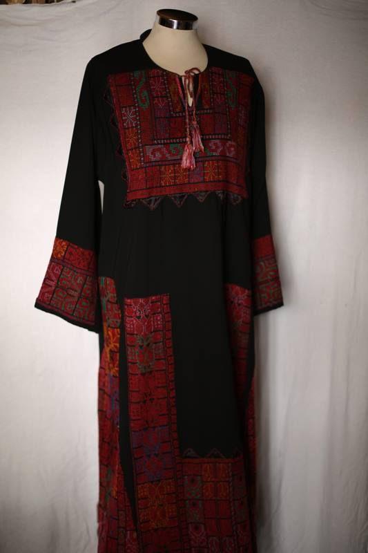 تطريز فلاحي فلسطيني ثوب فلاحي Palestinian Embroidery Dress Palestinian Embroidery Traditional Fashion