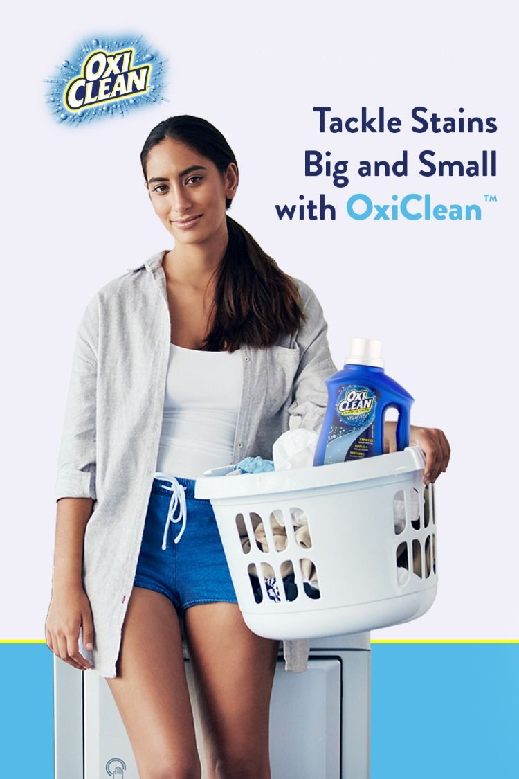 Tackle Stains With Oxiclean Laundry Stain Remover Laundry