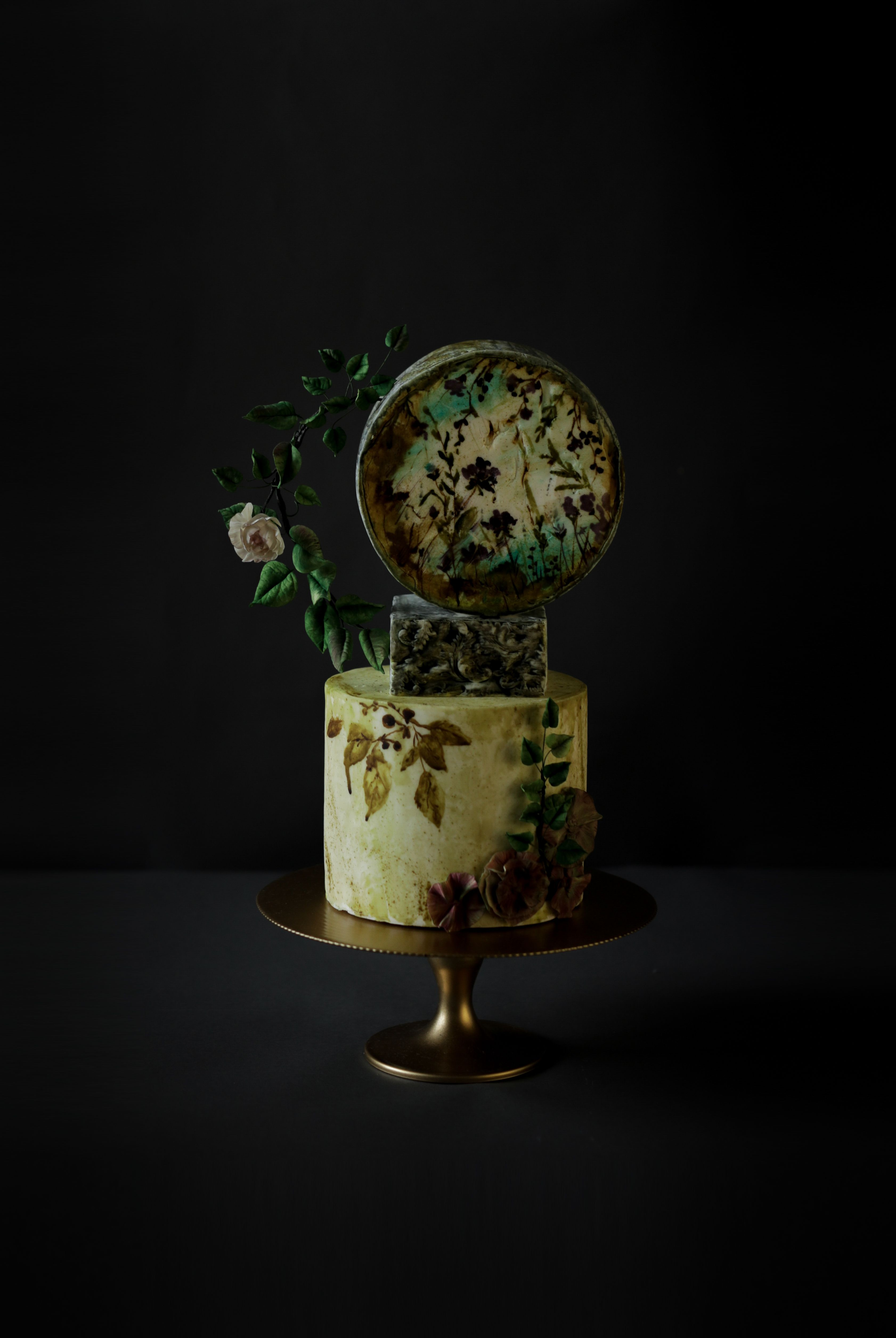 edible flowers for cakes tesco