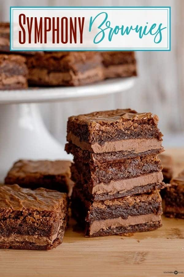 Symphony Brownies This Is The Showstopper Brownie Recipe You Need In Your Life I Love All Brownies But The Desserts Brownie Recipes Chocolate Dessert Recipes