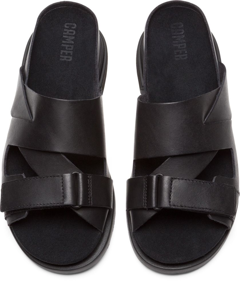 845291f1add8 Camper Eda Black Flat Shoes Women K200570-001