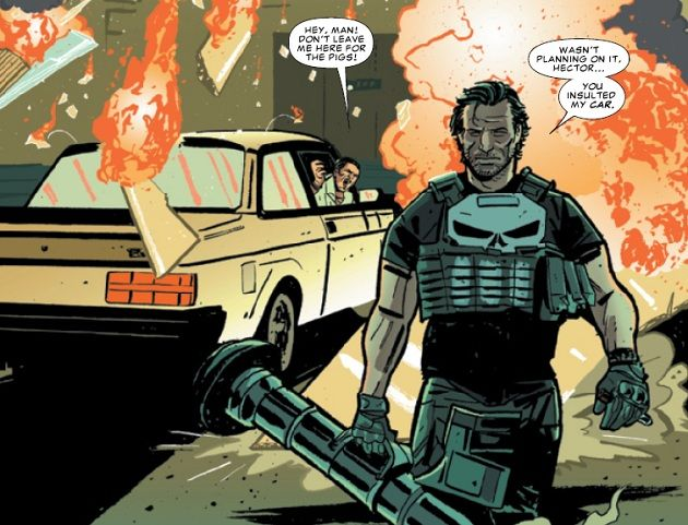 The Punisher 1 Frankie Goes To Hollywood Review