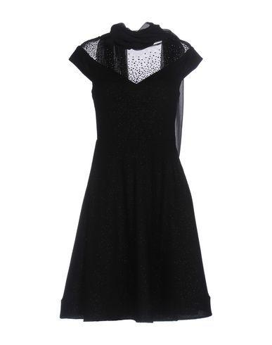 MUSANI COUTURE Women's Short dress Black 6 US