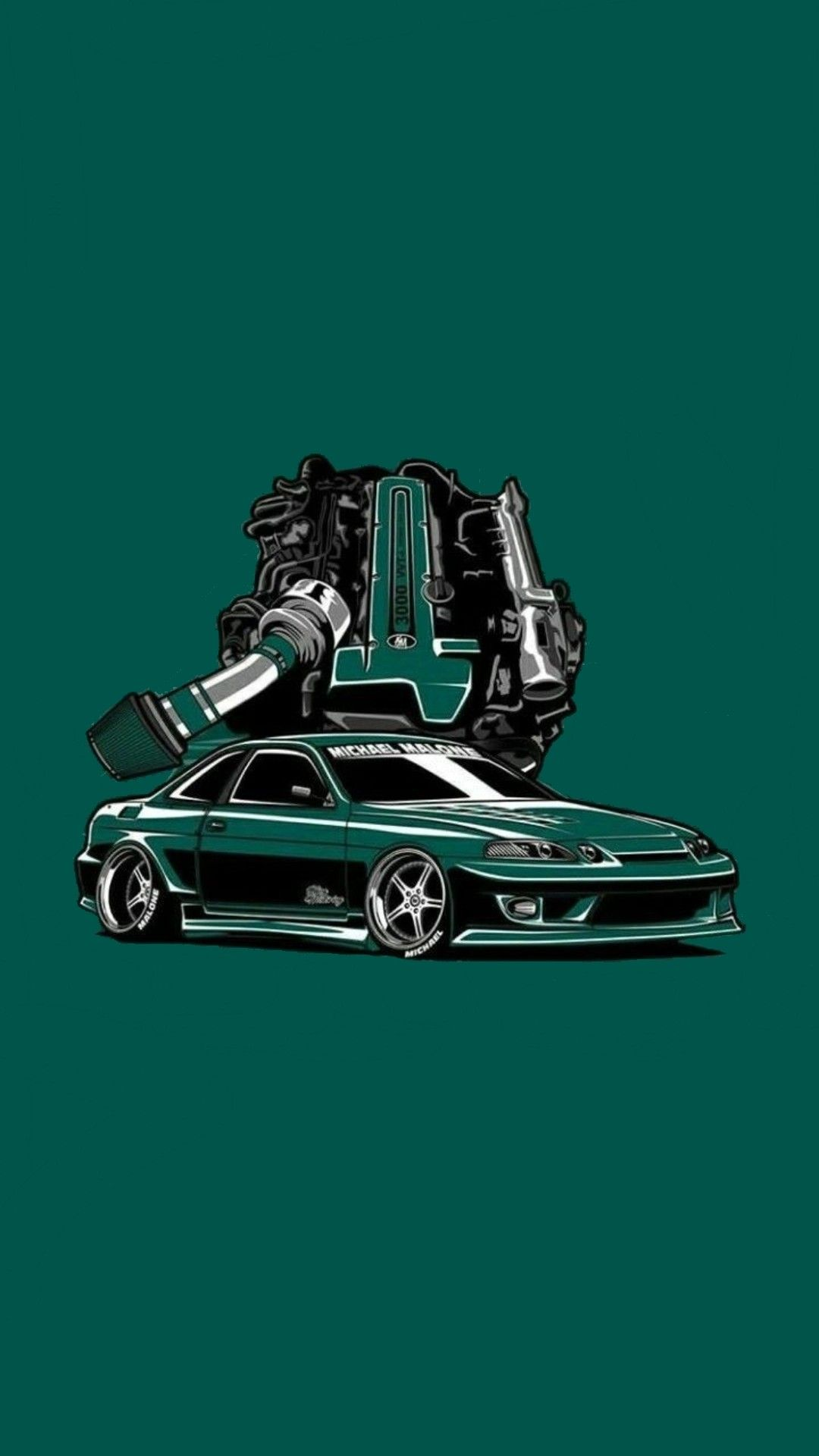 Toyota Soarer With Images Car Wallpapers Car Drawings