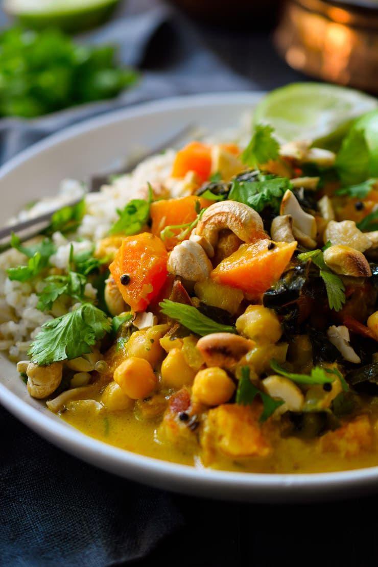 Vegan Pumpkin Curry   Cilantro and Citronella   Recipe ...