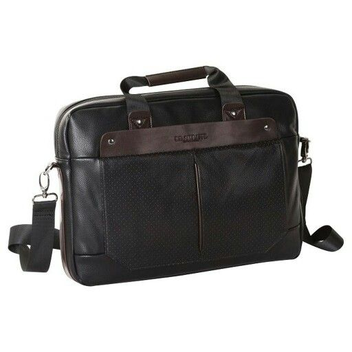 U S Polo Leather Messanger Laptop Bag
