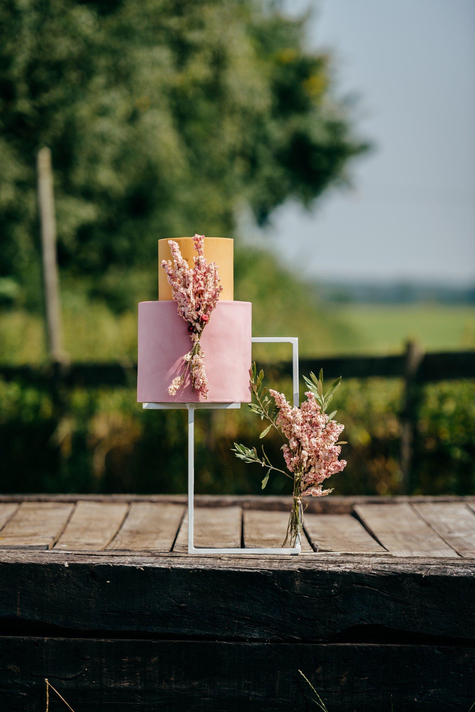Floating cake stand handmade heavy duty cake stand