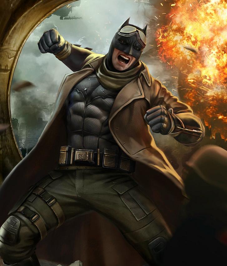 Injustice 2 Mobile Roster Batman Batman Comics Shazam Comic