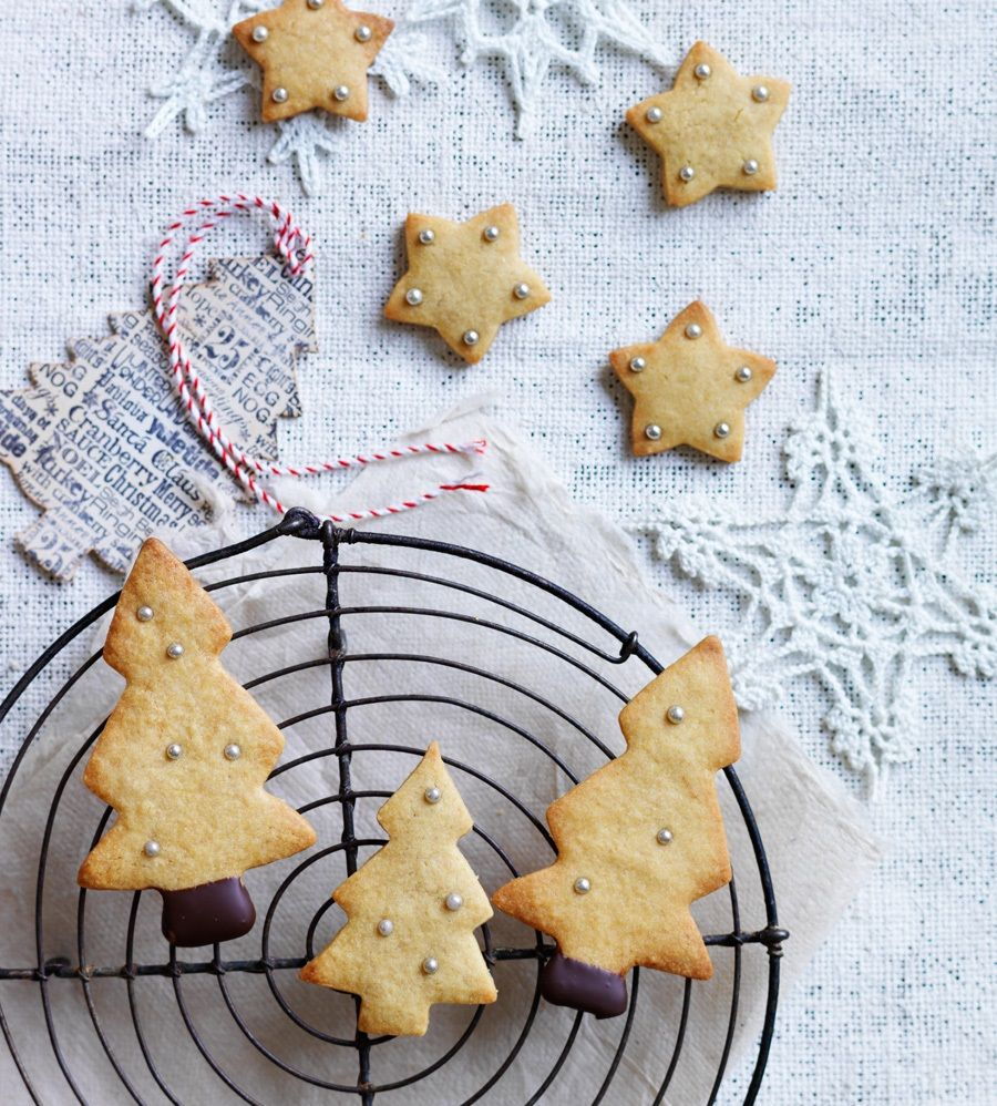 Recipes Spiced Christmas Biscuits Louise Fulton Keats