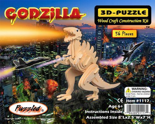 Godzilla 3D puzzle