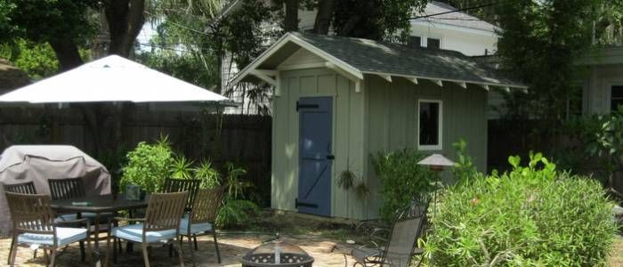 Historic Shed Florida | Garden Sheds | Custom Sheds | Guest Cottages |  Garages | Wood