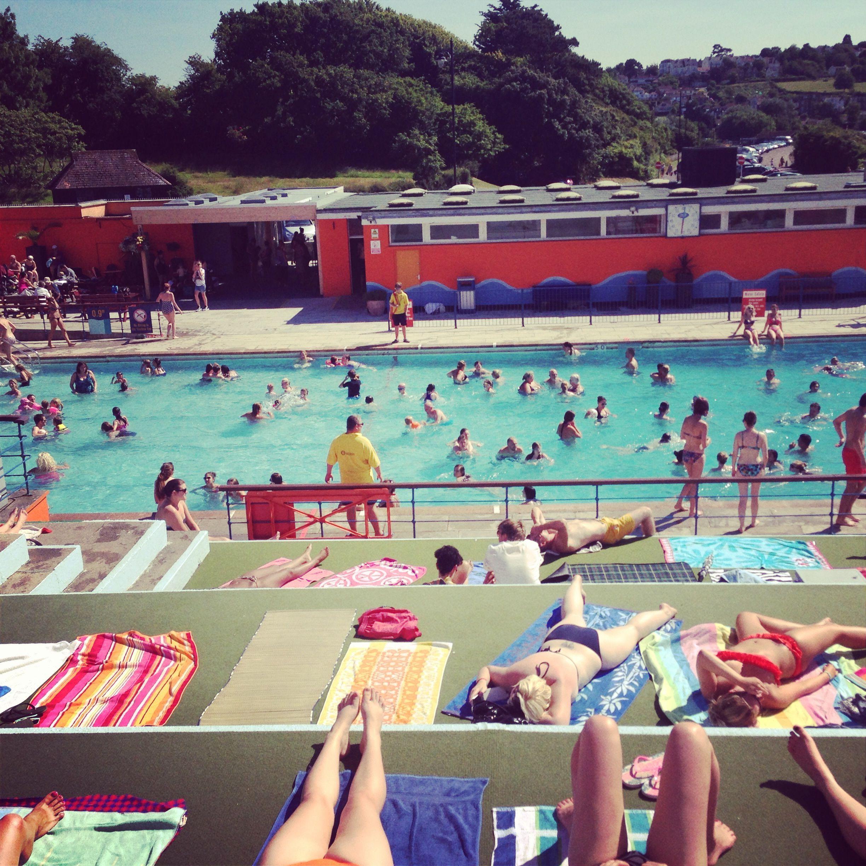#Portishead Lido | Urban beach, Swimming pool floats ...