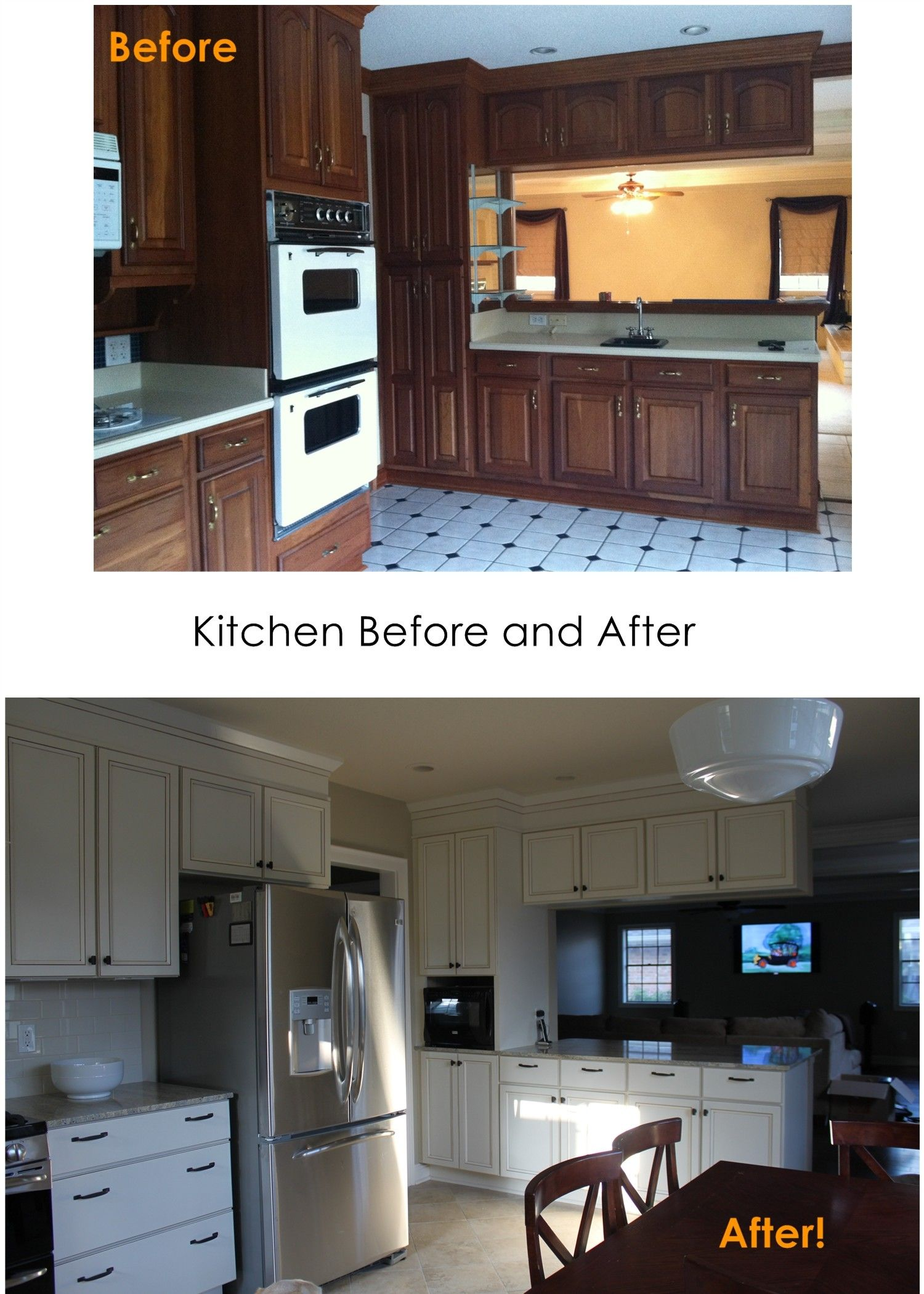10x10 Kitchen Remodel: Kitchen Remodel - Before And After (With Images)