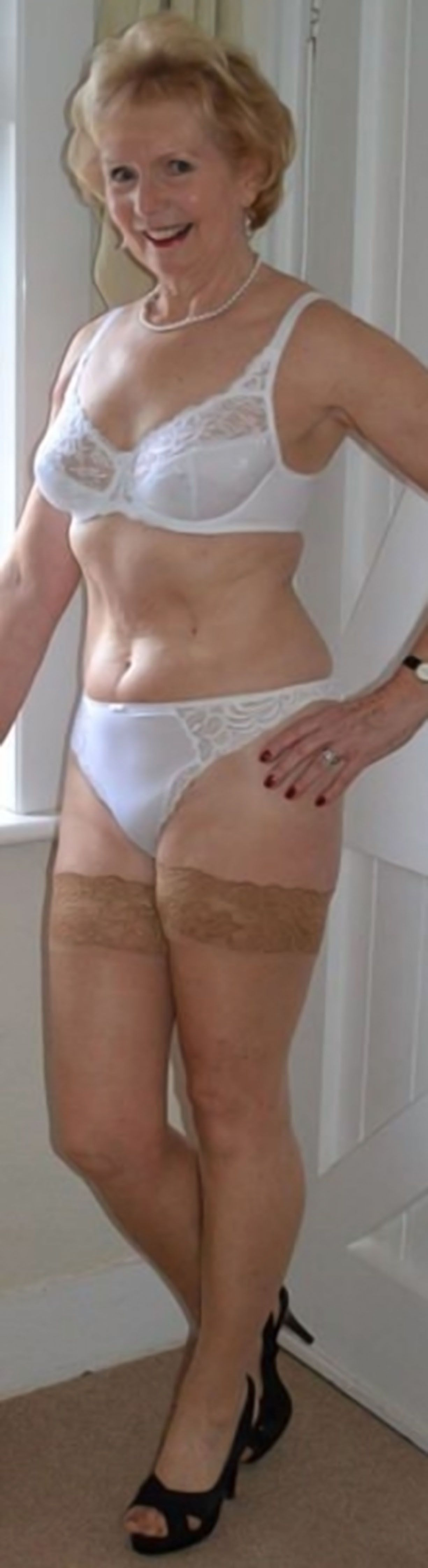 Lingerie grannies in The Steamiest