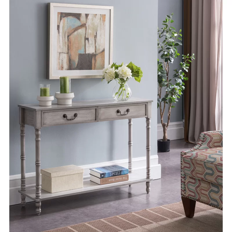 Gering Console Table In 2020 Furniture Wooden Console Table